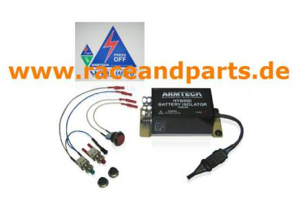 Stromabschalter Notaus Motorsport ARMTECH Stromkreisunterbrecher Spannungsunterbrecher