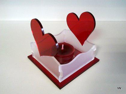 Teelichthalter Herz 2 - Vorschau 1