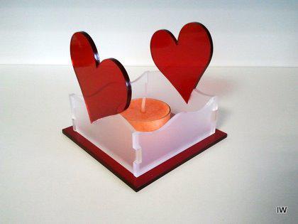 Teelichthalter Herz 2 - Vorschau 2