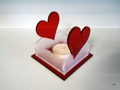 Teelichthalter Herz 2 - Vorschau 3