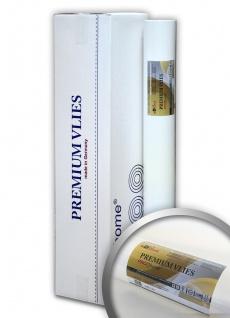 PROFHOME PremiumVlies 150 g Profi-Malervlies Renoviervlies Glattvlies überstreichbare Vliestapete weiß 1 Karton 100 qm
