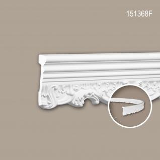 Wand- und Friesleiste PROFHOME 151368F Stuckleiste Flexible Leiste Zierleiste Neo-Renaissance-Stil weiß 2 m