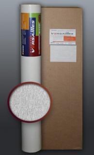 EDEM 374-60 1 Kart 5 Rollen Dekorative Decken Wand Vlies-Tapete überstreichbar weiß | 132 qm