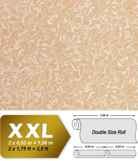 Grafik Tapete Vliestapete EDEM 605-81 Kunstvolle Pop Art Raster Designer kreatives Hologramm-Muster gold-beige creme-weiß | 10, 65 qm