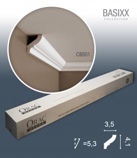 Orac Decor CB501 BASIXX 1 Karton SET mit 40 Stuckleisten | 80 m