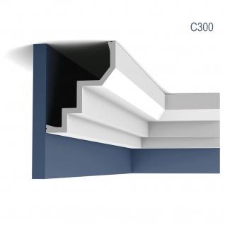 Eckleiste Orac Decor C300 LUXXUS Stuckleiste Zierleiste Decken Dekorleiste Stuckgesims Profilleiste | 2 Meter