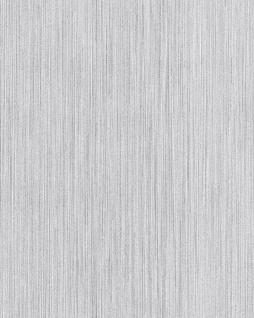 Uni Tapete EDEM 594-20 Vinyltapete strukturiert Ton-in-Ton glitzernd weiß 5, 33 m2