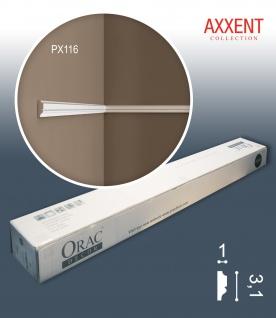 Orac Decor PX116 AXXENT 1 Karton SET mit 10 Stuckleisten Wandleisten | 20 m
