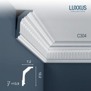Eckleiste Orac Decor C304 LUXXUS Zierleiste Stuck Deckenleiste Gesims Wand Dekor Leiste | 2 Meter