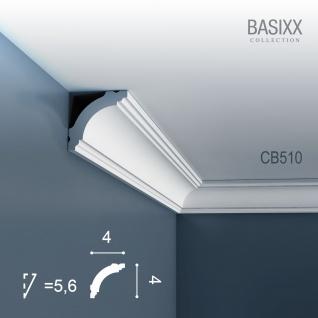 Eckleiste Stuck Orac Decor CB510 BASIXX Stuckleiste Zierleiste Stuck Leiste Dekor Element Wand Decken Leiste | 2 Meter