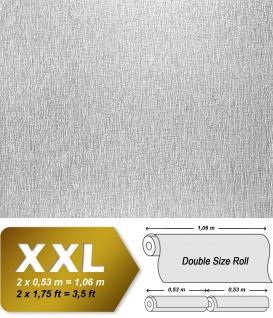 EDEM 374-60 1 Kart 5 Rollen Dekorative Decken Wand Vlies-Tapete überstreichbar weiß | 132 qm - Vorschau 2