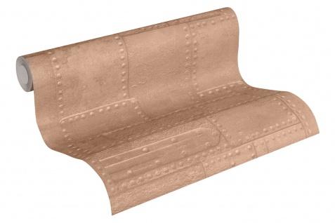 3D Tapete Profhome 364942-GU Vinyltapete glatt im Used Look matt kupfer braun 5, 33 m2 - Vorschau 2