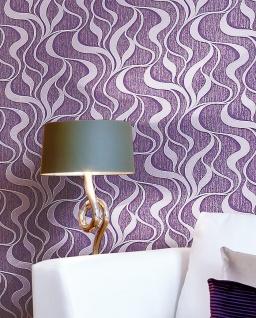 Grafik Tapete Vliestapete EDEM 699-93 XXL Designer Streifen kreative Wellen Linien braun-beige natur-weiß 10, 65 qm - Vorschau 3