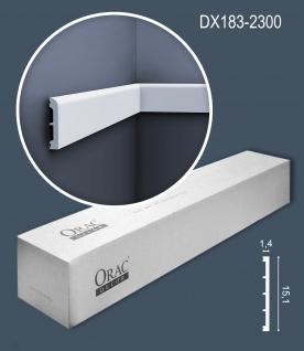 Orac Decor DX183-2300-box 1 Karton SET mit 18 Türumrandungen Sockelleisten   41, 4 m