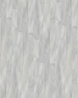 Streifen Tapete Profhome VD219141-DI heißgeprägte Vliestapete geprägt mit Streifen dezent schimmernd silber grau 5, 33 m2