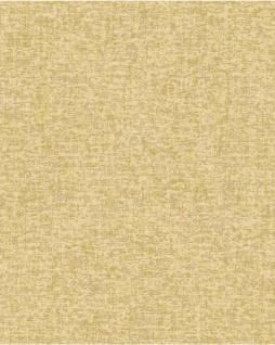 Textiloptik Tapete Profhome DE120055-DI heißgeprägte Vliestapete geprägt Ton-in-Ton matt gelb 5, 33 m2
