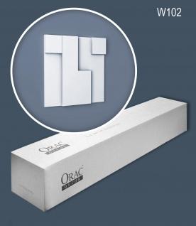 Orac Decor W102 MODERN 1 Karton SET mit 5 Wandpaneelen Zierelementen 0, 55 m2