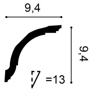 Zierleiste Profilleiste Orac Decor CX127F AXXENT flexible Stuckleiste Stuck Profil Eckleiste Wand Leiste | 2 Meter - Vorschau 2