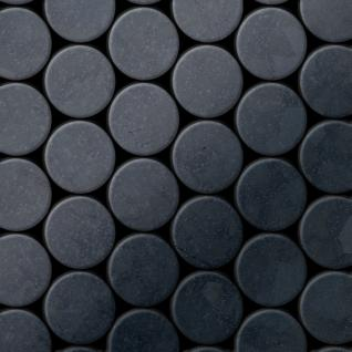 Mosaik Fliese massiv Metall Rohstahl gewalzt in grau 1, 6mm stark ALLOY Dome-RS 0, 73 m2