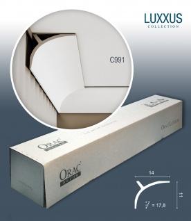 Orac Decor C991 LUXXUS 1 Karton SET mit 6 Stuckleisten | 12 m