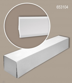 Profhome 653104 1 Karton SET mit 6 Sockelleisten Zierleisten Stuckleisten | 12 m