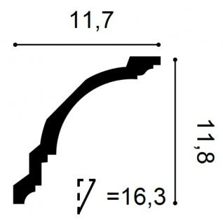 Zierleiste Profilleiste Orac Decor CX106 AXXENT Stuck Profil Eckleiste Wand Leiste Decken Leiste | 2 Meter - Vorschau 2