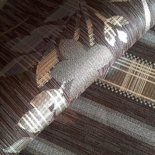 Streifen Tapete Vliestapete EDEM 640-94 Textilstruktur mit Karomuster XXL Tapete braun bronze silber 10, 65 qm - Vorschau 2
