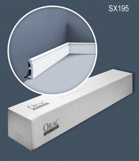 Orac Decor SX195-box 1 Karton SET mit 22 Sockelleisten Stuckleisten   44 m
