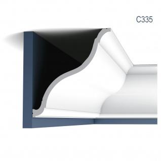 Stuckleiste Dekor Profil Orac Decor C335 LUXXUS Eckleiste Zierleiste Decken Wand Stuck Gesims Dekorleiste | 2 Meter - Vorschau 1