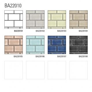 Grafik Tapete Profhome BA220104-DI heißgeprägte Vliestapete geprägt mit geometrischen Formen glänzend beige grau-beige weiß 5, 33 m2 - Vorschau 3