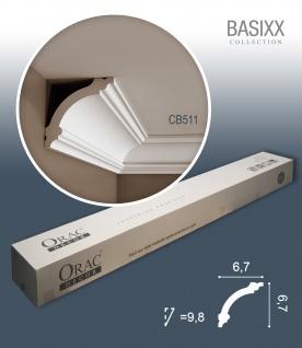 Orac Decor CB511 BASIXX 1 Karton SET mit 18 Stuckleisten | 36 m