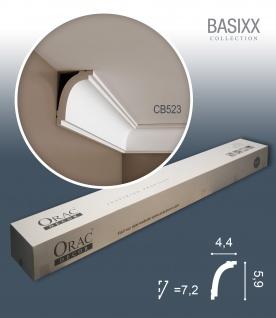 Orac Decor CB523 BASIXX 1 Karton SET mit 10 Stuckleisten Eckleisten | 20 m - Vorschau 1