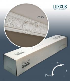 Orac Decor C338A LUXXUS 1 Karton SET mit 6 Eckleisten Stuckleisten | 12 m