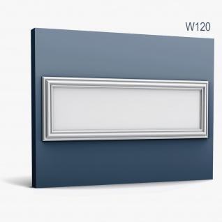 3D Wandpaneel Orac Decor W120 LUXXUS AUTOIRE Wandpaneel Zierelement Zeitloses Klassisches Design weiß 0, 75 m2