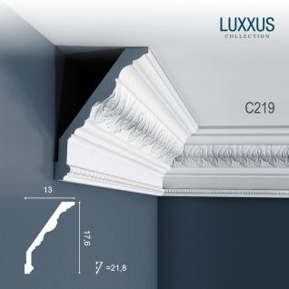 Orac Decor C219 LUXXUS 1 Karton SET mit 7 Eckleisten Stuckleisten | 14 m - Vorschau 2