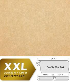 Uni Tapete EDEM 9009-22 Vliestapete geprägt mit abstraktem Muster glänzend elfenbein beige 10, 65 m2