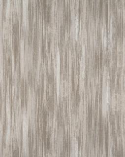 Streifen Tapete Profhome BV919087-DI heißgeprägte Vliestapete strukturiert mit abstraktem Muster matt beige grau creme-weiß 5, 33 m2