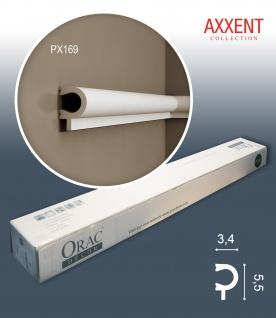 Orac Decor PX169 AXXENT 1 Karton SET mit 24 Eckleisten Stuckleisten | 48 m