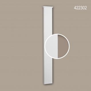 Pilaster Schaft 422302 Profhome Fassadenelement Pilaster Außenstuck Korinthischer Stil weiß
