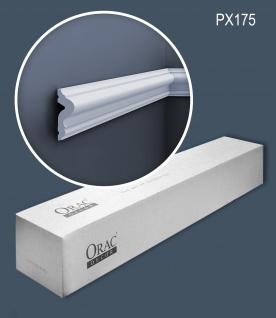 Orac Decor PX175-box-10 1 Karton SET mit 10 Wandleisten Friesleisten 20 m