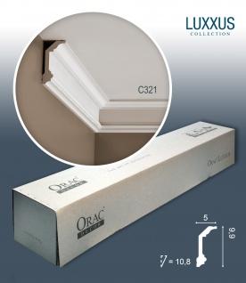 Orac Decor C321 LUXXUS 1 Karton SET mit 20 Stuckleisten | 40 m