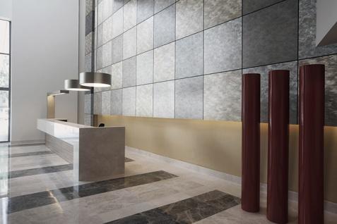 Wandpaneel Metalloptik WallFace 20190 OXIDIZED Wandverkleidung im Rost-Vintage Look und mit metallischen Akzenten selbstklebend titan grau 2, 6 m2 - Vorschau 2