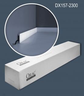 Orac Decor DX157-2300 AXXENT 1 Karton SET mit 27 Türumrandungen Wandleisten   62, 1 m