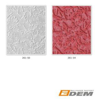Spachtel Tapete Putz Tapete EDEM 261-54 Dekorative Struktur Vinyl 3D metallic effekt feine Glitzer himbeer-rot | 7, 95 qm - 15 meter - Vorschau 3