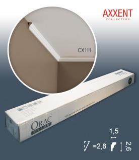 Orac Decor CX111 AXXENT 1 Karton SET mit 10 Stuckleisten Eckleisten | 20 m