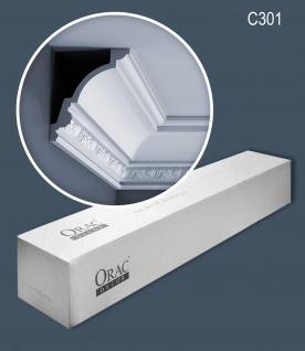 Orac Decor C301 LUXXUS 1 Karton SET mit 8 Stuckleisten 16 m