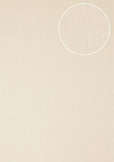 Luxus Struktur Tapete Atlas COL-562-1 Vliestapete Luxus Strukturiert unifarben matt weiß 5, 33 m2