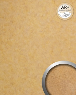 Wandverkleidung Vintage Look WallFace 19208 SILENT GOLD Dekorpaneel glatt in Metall Optik glänzend selbstklebend abriebfest gold bronze 2, 6 m2 - Vorschau 2