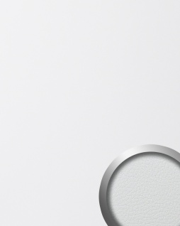 Wandpaneel Leder Design selbstklebend WallFace 13467 LEATHER Struktur Wandplatte Luxus Paneel Tapete weiß | 2, 60 qm