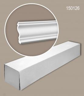 Profhome 150126 1 Karton SET mit 8 Eckleisten Zierleisten Stuckleisten | 16 m